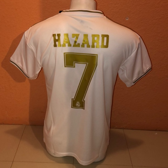 premium selection bef30 6bc7e #7 Hazard Real Madrid home 19/20 S, M, L& Xl NWT